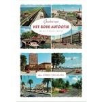 Groeten van HET RODE AUTOOTJE een reis in ansichtkaarten | Sonja van Hamel | De Harmonie Birdfish | 9789463360357