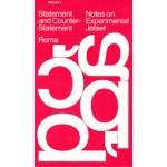 Notes on Experimental Jetset - Statement and Counter Statement. volume 1 - reprint combined with the booklet 'Automatically Arranged Alphabets' | 9789491843860