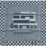 Tea Towel - Sonneveld House - black   Designed by Richard Hutten