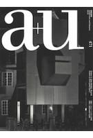 a+u 471. 2009:12 John Hejduk, Perceptual Space | 4910019731290 | a+u magazine