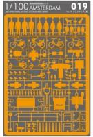 Architectural Model Accessoiries Series No. 19. Amsterdam - Orange | Naoki Terada | 4580353340948