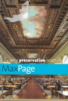 why preservation matters | Max Page | 9780300218589