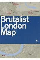 BRUTALIST LONDON MAP | Blue Crow Media | 9780993193453