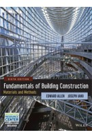 Fundamentals of Building Construction. Materials and Methods - 6th Edition | Edward Allen, Joseph Iano | 9781118138915