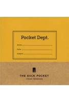 Back Pocket Notebook Set. Set of three Pocket Department Notebooks | 9781616891992