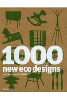 1000 new eco designs and where to find them   Rebecca Proctor   9781856695855