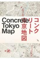 Concrete Tokyo Map | Naomi Pollock | 9781912018680 | Blue Crow