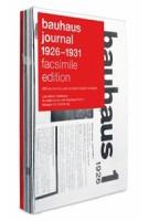 bauhaus journal 1926-1931. facsimile edition | 9783037785881 | Lars Müller