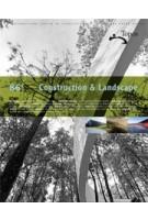 Topos 86. Construction & Landscape | Topos magazine