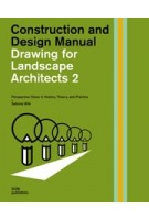 Drawing for landscape architects 2. Construction and Design Manual | Sabrina Wilk | 9783869226538 | DOM