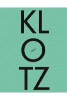 The KLOTZ Tapes | 9783931435288 | ARCH+