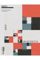 ARCH+ 233: Norm-Architektur. Von Durand zu BIM   9783931435493   ARCH+ magazine