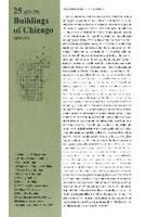 25 Buildings of Chicago Volume 2. 1899-1971 | Florian Fischer, Marius Stadler, Nelly Jana | 9783941370289