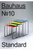 Bauhaus N° 10 - Standard | Stiftung Bauhaus Dessau | 9783959052269 | Spectormag GbR