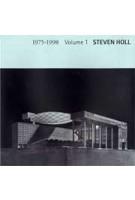 Steven Holl 1975-1998. Volume 1 | Yukio Futagawa | 9784871404297