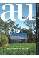 a+u 576. 2018:09. Sustainability In Australia | 9784900212268 | a+u magazine