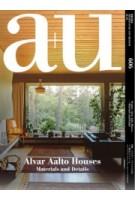a+u 606 2021:03. Alvar Aalto Houses. Materials and Details | 9784900212619 | a+u magazine