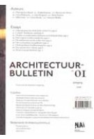 Architectuur Bulletin 01