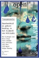 Open 22. Transparantie. Openbaarheid en geheimhouding in het tijdperk van WikiLeaks | Jorinde Seijdel, Liesbeth Melis | 9789056628222