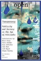 OPEN 22. Transparency. Publicity and Secrecy in the Age of WikiLeaks | Jorinde Seijdel, Liesbeth Melis | 9789056628390