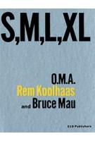 S,M,L,XL (1st Print)   Small Medium Large Extra Large   O.M.A., Rem Koolhaas, Jennifer Sigler   9789064502101