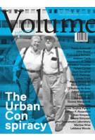 Volume 29. The Urban Conspiracy