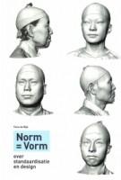Norm = Vorm. over standaardisatie en design | Timo de Rijk | 9789078964629 | Thieme Art