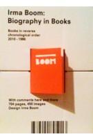Irma Boom. The Architecture of The Book | Irma Boom | 9789462260351