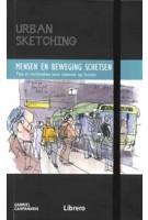 Mensen en beweging schetsen. Tips en technieken voor tekenen op locatie | Gabriel Campanario | 9789463593519 | Librero