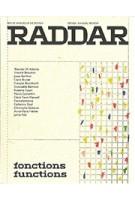 RADDAR no 01. fonctions  functions | 9791095513032