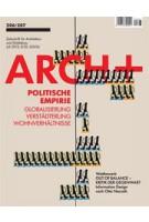 ARCH+ 206/207. Politische Empirie. Globalisierung. Globalisierung, Verstädterung, Wohnverhältnisse | ARCH+ magazine