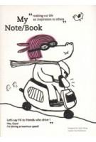 My Note/Book. Hippopotamus   notebook by Cindy Wang