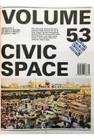 Volume 53. Civic Space | 9789077966631 | ARCHIS