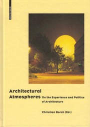 Architectural Atmospheres