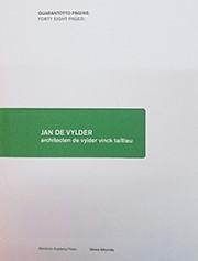 Jan De Vylder. architecten de vylder vinck taillieu