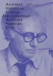 OASE 87. Alan Colquhoun