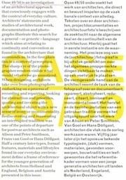 OASE 49 / 50. Convention