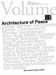 Volume 26. Architecture of Peace