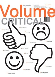 Volume 36. Ways to be Critical
