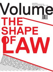 Volume 38. The Shape of Law