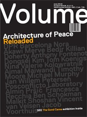Volume 40. Architecture of Peace Reloaded